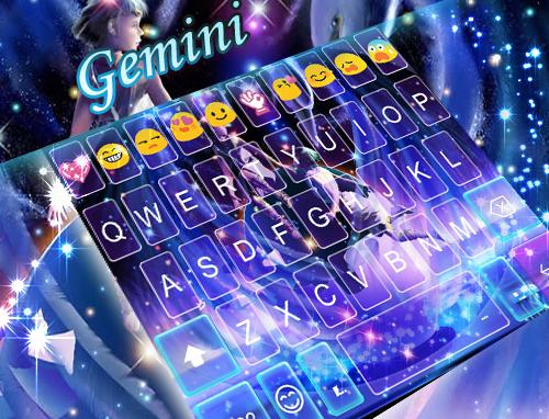玩個人化App|Gemini Emoji Keyboard Theme免費|APP試玩
