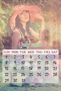 Calendar Photo Frame 2018 Pro - náhled