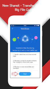 App New Shareit - Transfer & Share Big File Guide APK for Windows Phone