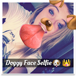 Snap Doggy Face — Filter Icon