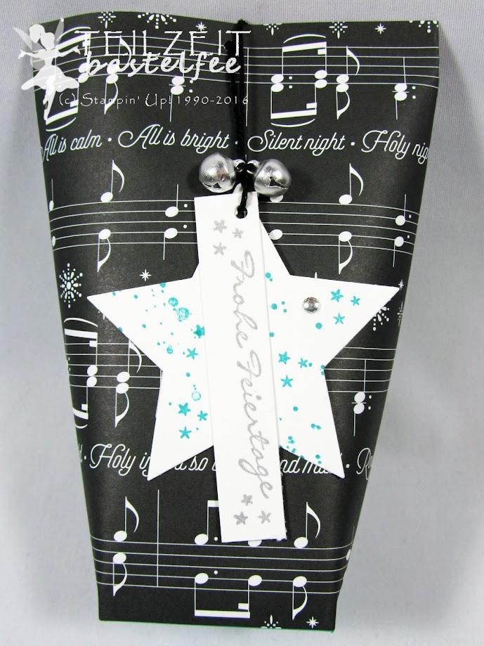 Stampin' Up! - In{k}spire_me #330, Christmas Special, Weihnachten, gift tag, Geschenkanhänger, Kling Glöckchen, Gorgeous Grunge