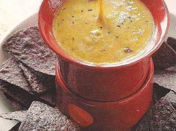 Chili Cheese Fondue