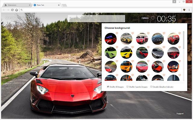 Lamborghini Super Cars Hd Wallpapers New Tab