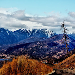 Road to Bralorne by Don Mann - Landscapes Mountains & Hills ( skyline, photograph, don, vibrant, beach, beaches, sky, seas, tree, nature, shadow, dark, photographer, sunshine, light, bc, british columbia, canada, colors, art, white, image, lake, northern, picture, peachland, outdoors, canadian, images, mann, natural, west, shore, photographs, colorful, land, pictures, north, beauty, landscape, digital, pretty, photography, mountains, southern, digital art, east, clouds, abstract, water, sand, peaceful, park, beautiful, boats, scenic, sailboat, photo, photos, blue, color, background, south, scenery )