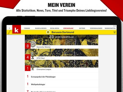 kicker Fußball News 6.6.0 screenshots 15