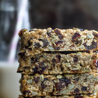 Chewy Trail Mix Protein Granola Bars