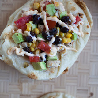 Easy Mexican Flatbread.
