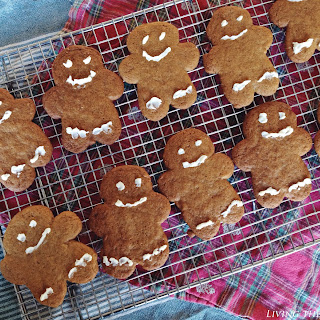 Fresh Ginger Cookies.