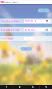 Ovulation Predictor- screenshot thumbnail