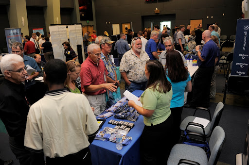 KSC and Brevard Work Force Partner Job Fair.