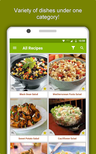 Salad Recipes: Healthy Foods with Nutrition & Tips 2.2.4 screenshots 13