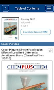 ChemPlusChem- screenshot thumbnail