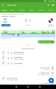 SofaScore - Live Scores, Fixtures & Standings Screenshot