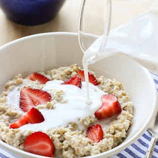 Strawberries n' Cream Steel Cut Oatmeal