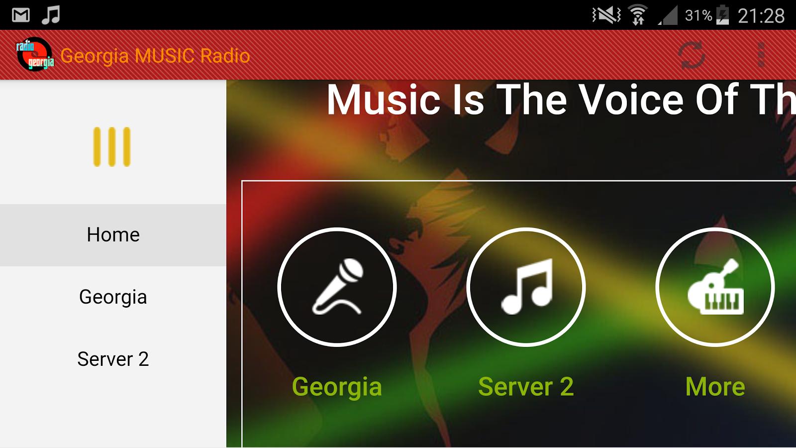 Georgia Radio Stations Live  Listen Online  Music Online
