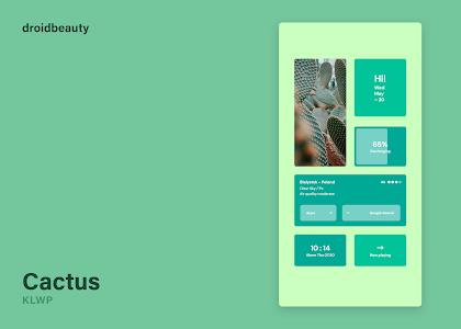 Cactus KLWP 1.2 (Paid)
