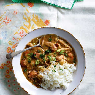 Cajun Chicken and Sausage Gumbo.