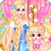 Tải Game Công chúa & bé trang điểm spa