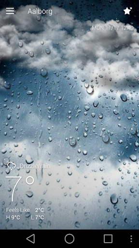 Classic GO Weather Background screenshot 1
