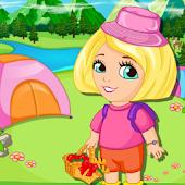 Baby Angela Messay Camp