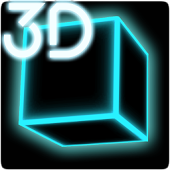 Infinite Cubes Particles 2 3D Live Wallpaper