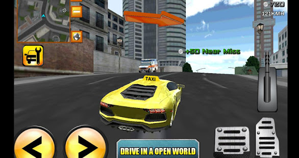 Game Crazy Driver Taxi Duty 3D APK for Windows Phone