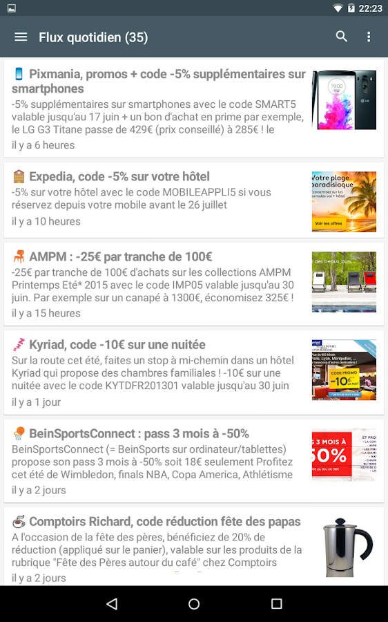 Max de bons plans - screenshot