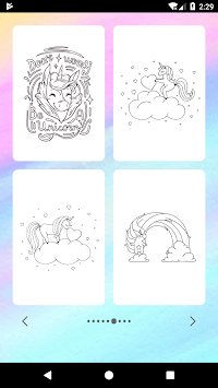 Unicorn Coloring Book APK screenshot thumbnail 4
