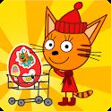 Три Кота Магазин Игра: Детские Развивающие Игры icon