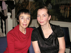 Photo: Zora Tsuker and Karina Sposobina, concert at the Lowell House, Harvard University