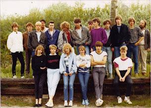 Photo: Abschlußklasse 10c (1984)