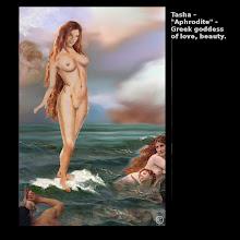 "Photo: Tasha - ""Aphrodite"" - Greek goddess of love, beauty"