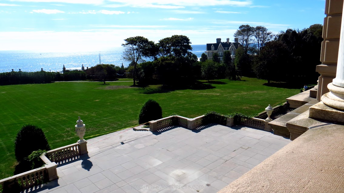 Front yard of the Breakers