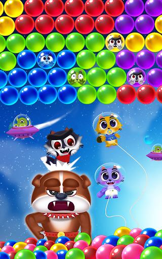 Space Cats Pop - Kitty Bubble Pop Games apktram screenshots 17