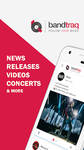 Bandtraq - Releases, videos, concerts & news - náhled