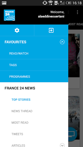 FRANCE 24 3.8.5 screenshots 3