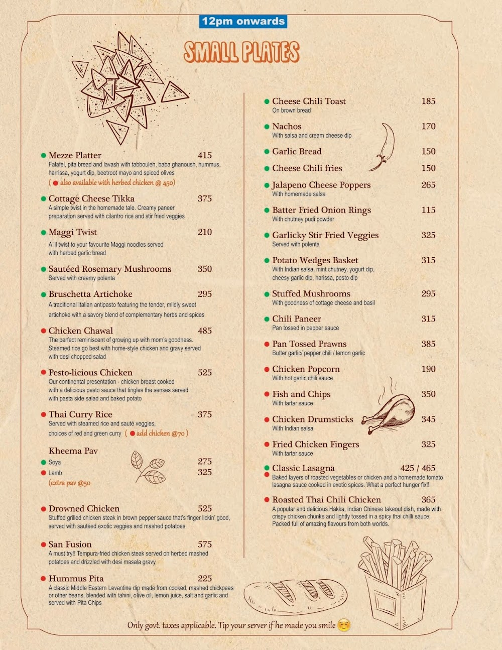 Chocolateria San Churro menu 4