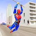 Grand Flying Robot Rope Hero - Crime City Gangster icon