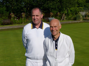 Photo: Men's Singles Final- Adrian Philpott and Brian Perryman.