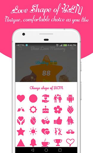 Been Love Memory - Love Counter - Love days 2018  screenshots 5