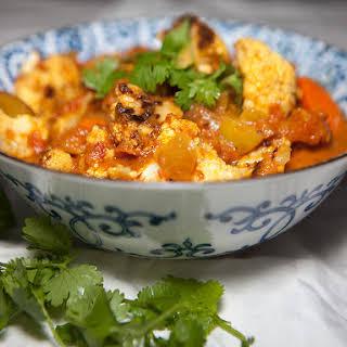 Vegan Roasted Cauliflower Curry.