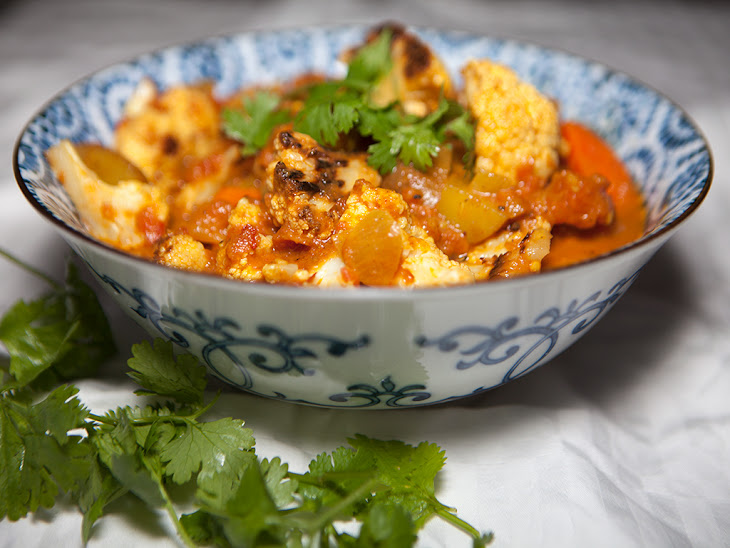 Vegan Roasted Cauliflower Curry Recipe