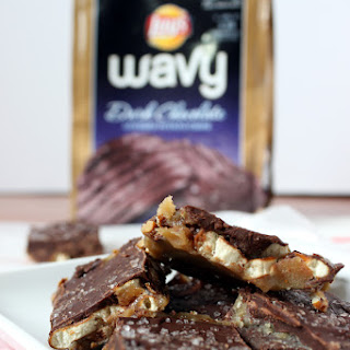 Simple Salted Potato Chip Pretzel Toffee