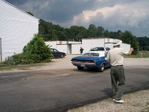 Photo: Many cars were there for photo shoots