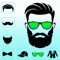 Men Beard Photo Editor Boy Hairstyle Salon icon
