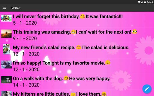 My Diary screenshot 13