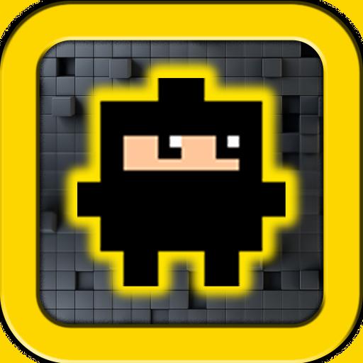 街机のピクセル忍者 LOGO-HotApp4Game