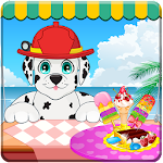 Paw Ice Cream Maker Icon