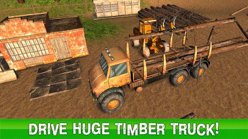 Timber Truck Driving Simulator