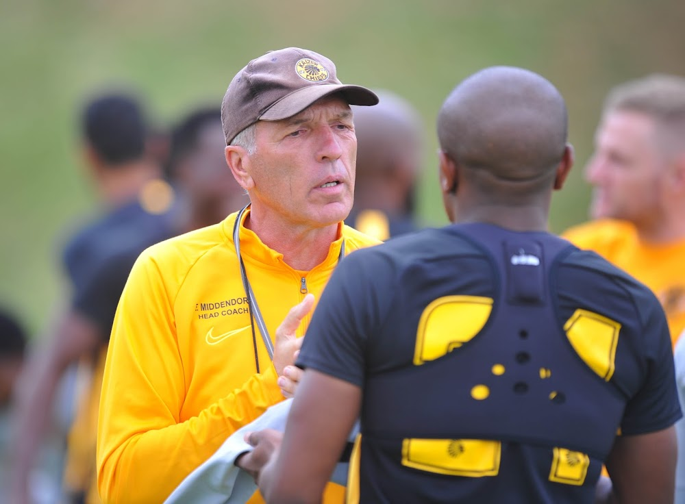 Middendorp intends to field Chiefs players sitting on three yellow cards against Highlands - TimesLIVE